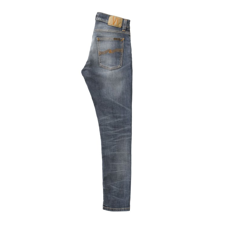 Heren Jeans Nudie Jeans TIGHT TERRY.WORN REPAIRED. Direct leverbaar uit de webshop van www.vipshop.nl/.